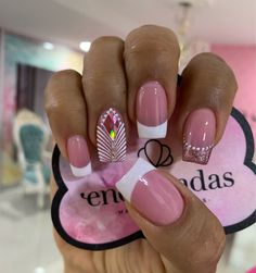 French Manicure Nail Designs, Manicure And Pedicure, Nail Art Designs, Stick On Nails, Nail Time, Classy Nails, Super Nails, Hot Nails, Gorgeous Nails