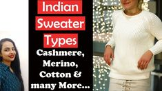 A sweater guide that will help you shop smartly and take care of your sw. Fashion Basics, Basic Style, Party Wear, Cashmere, Sweaters, Cotton, How To Wear, Stuff To Buy, Shopping