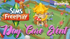 The Sims Freeplay Day Care Live Event Complete // Early Access