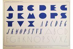 Art Deco Typography Sheet, 25 on OneKingsLane.com Art Deco Typography, Typography Design Layout, Typography Letters, Lettering Design, Layout Design, Design Art, Mood, Vintage Market, Visual Communication