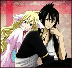 Mavis Vermillion and Zeref | Fairy Tail
