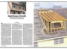 Wall Section Through Shed Dormer This And Other Helpful