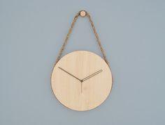 Hanging Clock - modern - Clocks - Lukas Peet Design