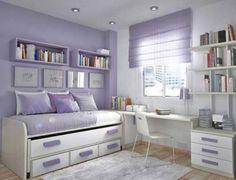 Teen Room. Best Teenage Bedroom Designs For Easy Doing Activities. Minimalist Teenage Bedroom Style features White Rug and Best Teenage Bedroom Designs