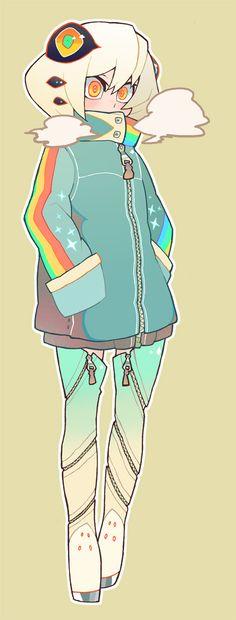Cyborg Alien girl? Arte Anime, Anime Alien, Anime Art, Dessin Wow, Alien Character, Character Concept, Character Art, Alien Girl, Cyborg Girl