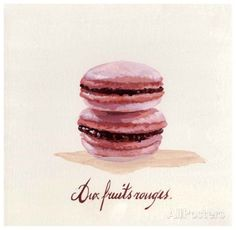 Macaron aux Fruits Rouges Posters by Pascal Cessou - AllPosters.co.uk