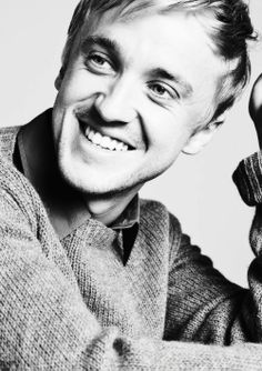 Tom Felton- he should wear sweaters more often