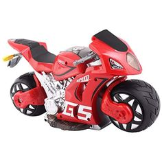 Costzon Scale R/C Simulation Remote Control Drift Motorcycle Kids Toys Red -- Click image for more details. (This is an affiliate link)
