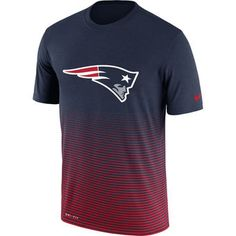 New England Patriots Nike New Day Enhanced Performance T-Shirt - Navy