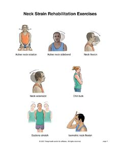 Exercises For Neck Pain Summit Medical Group - Neck Strain Exercises Neck Strain Exercises, Back Pain Exercises, Stretching Exercises, Stretches, Cervical Spine Exercises, Chair Exercises, Physical Therapy Exercises, Chiropractic Care, Athletic Training