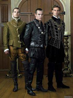 The Tudors, Henry Cavill/Charles Brandon, JRM/Henry, Callum Blue/Anthony Knivert