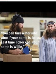 Oh Jase!