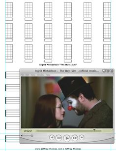 """On The Workbench: """"The Way I Am"""" by Ingrid Michaelson.  Starting the ukulele tab for this cute pop ballad.  Let me know if you would like free tab updates and skype review:  www.jeffrey-thomas.com"""