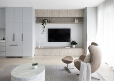 Custom floor to ceiling living and lounge room cabinetry Feature Wall Living Room, Living Room Wall Units, Living Room Designs, Living Room Decor, Lounge Room Designs, Tv Feature Wall, Living Room Storage, Living Rooms, Home Interior