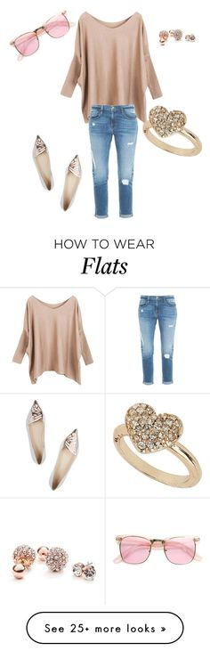 """""""Untitled #665"""" by twilsm on Polyvore featuring Frame Denim, Sophia Webster, Miss Selfridge and GUESS"""