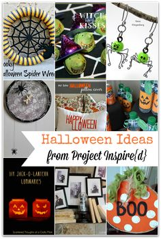 9 Unique Halloween Ideas from Project Inspire{d} ~ What a Great Idea!