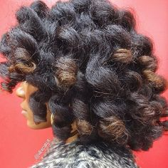 hair2mesmerize:  @heycurlie Reflecting on a... - Black girl hairstyle