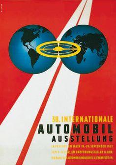 IAA Plakat 1957
