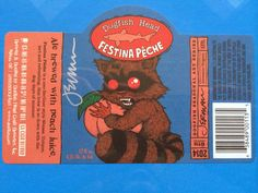dogfish head label design - Google Search
