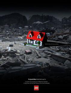 isolation   LEGO: Construir para aquellos que perdieron todo