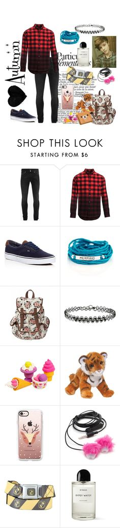 """Autumn; everyday wear"" by amopuppy ❤ liked on Polyvore featuring Alexander McQueen, Woolrich, Vans, Blooming Lotus Jewelry, Miss Selfridge, Casetify, Forever 21, Byredo, men's fashion and menswear"