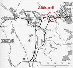 Alakurtin lentokenttä_02 Hyökkäysvaiheen operaatiot syksyllä 1941
