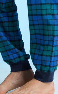 67c41568c Blusa de Meia Malha com calça de Flanela Renaux View xadrez verde paris.  MIXTE PIJAMAS • Fall - Winter 2017