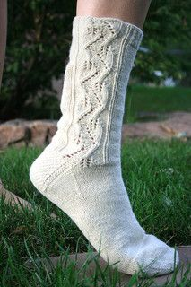 Ravelry: Himalayan Sock pattern by Marly Bird Knitting Socks, Hand Knitting, Knitting Patterns, Crochet Slippers, Knit Or Crochet, Burgundy Skater Skirt, Little Cotton Rabbits, Knitting Accessories, Sock Yarn