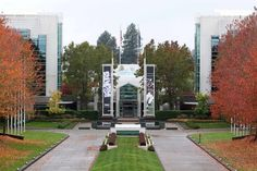 Wife once worked here at Nike World Headquarters in Beaverton, Oregon