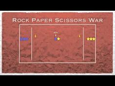 P.E. Games - Rock Paper Scissors War - YouTube