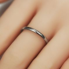 Harry Potter The Deathly Hallows Inspired His and Her Ring with ' I Will Always Love You ' Engraved