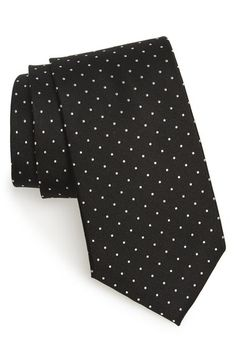 Nordstrom Men's Shop 'Love Dot' Silk Tie available at #Nordstrom