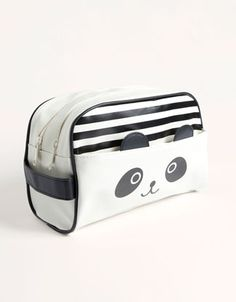 Trousse de toilette panda (Oysho)