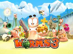 Worms 3 Screenshot 1 : http://goo.gl/e4E9xt