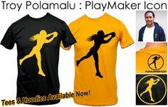 Troy Polamalu PlayMaker Icon Brand Legendary Shirts and Hoodies