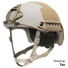 ops-core: FAST Ballistic High Cut (XP) Helmet. An excellent improvement over the MICH & ACH series helmets used by the DoD. Best of all it's lighter weight while still providing the same ballistic protection.