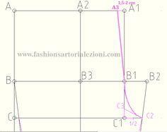 costruzione del modello bellissimo del pantalone aderente su misura senza difetti.