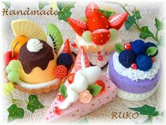 fake sweets by RUKO