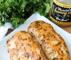 Baked Honey Mustard Chicken | from thehonoursystem.com
