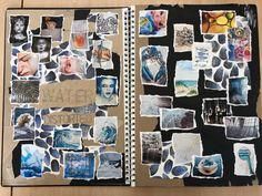 Gcse Art Sketchbook, Fashion Sketchbook, Sketchbook Ideas, Sketchbooks, Art Portfolio, Fashion Portfolio, A Level Art, Still Life Art, Scrapbook Journal