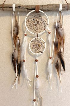 Drifting with the Flow Dreamcatcher by LunaSageDesigns on Etsy