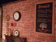 Brick Wallpaper, Wine Cellar, Game Room, Earthy, Dinner, Wall Ideas, House, Riddling Rack, Dining