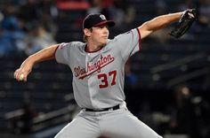 MLB: Strasburg abre por Nacionales 1er juego contra Cachorros