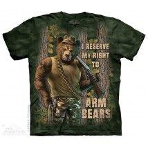 The Mountain, Arm Bears felnőtt rövidujjú 3D amerikai póló