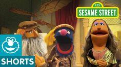 "Sesame Street: Leonardo da Crunchy's ""The Muncha Lisa"" (Cookie Art) No. 4"