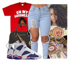 """""""Get to 100 likes """" by kodakdej ❤ liked on Polyvore featuring MICHAEL Michael Kors, Rolex and NIKE"""