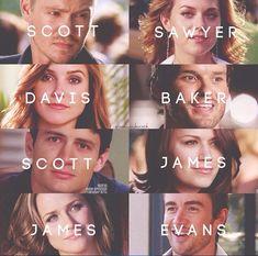 Scott & Sawyer & Davis & Baker & Scott & James & James & Evans.