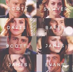 Scott & Sawyer & Davis & Baker & Scott & James & James & Evans.