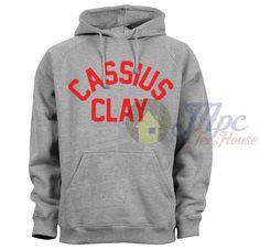 Like and Share if you want this Cassius Clay Muhammad Ali Hoodie Cassius Clay Muhammad Ali Hoodie Collection The design is printed locally with eco-friendly water based inks using a digital printing method that guarantees a long lasting and durable print. Cassius Clay Muhammad Ali Hoodie printed onto Gildan Hoodies, 80% cotton and 20% polyester so it has a soft fit ... Tag a friend who would love this! FREE Shipping Worldwide Get it here…