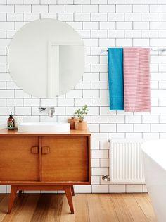 Casa de diseño mid century con muebles vintage 9